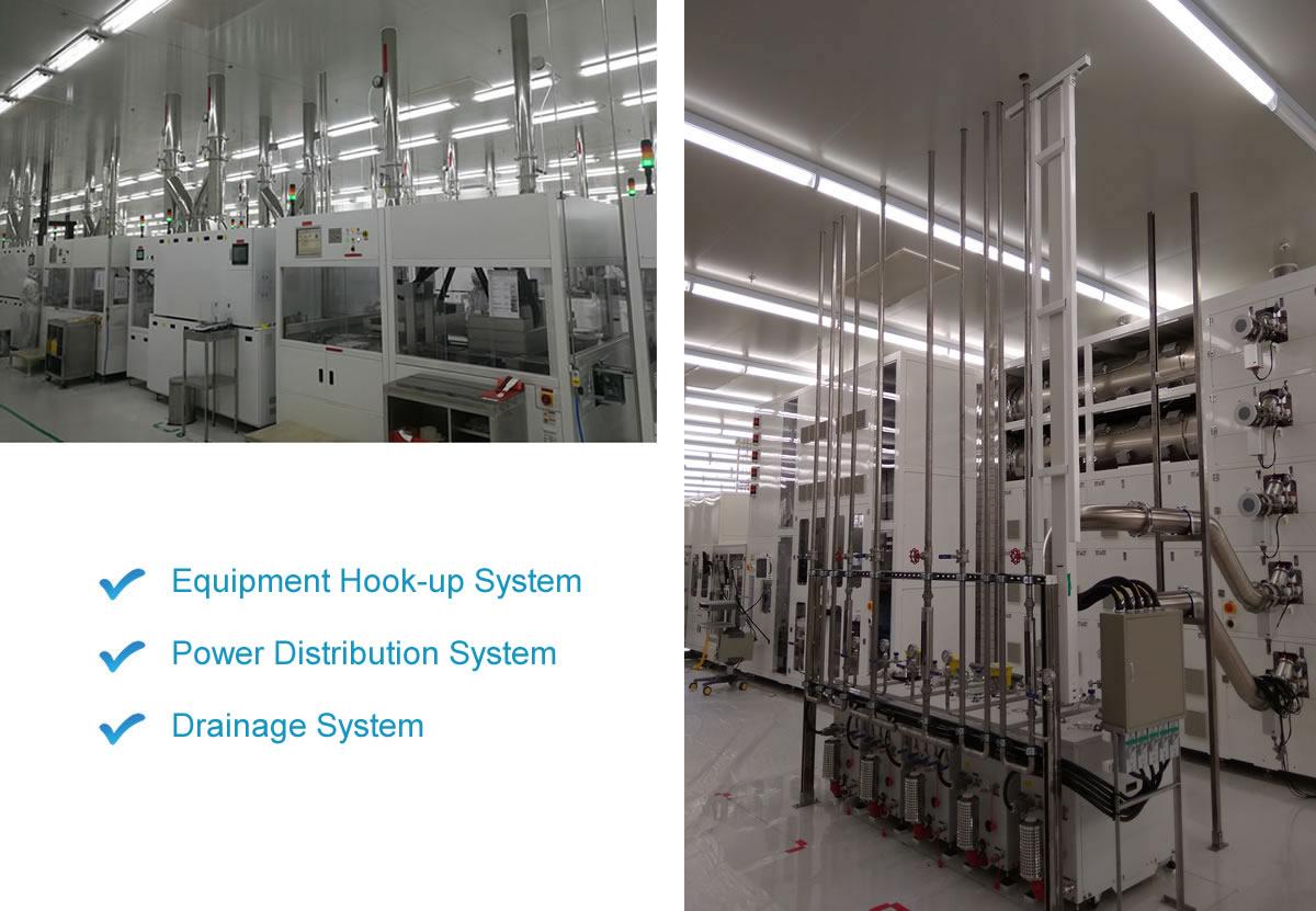 hook up equipment